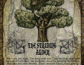 #31 untuk Adding colour and background to the Striding Alder oleh lausta