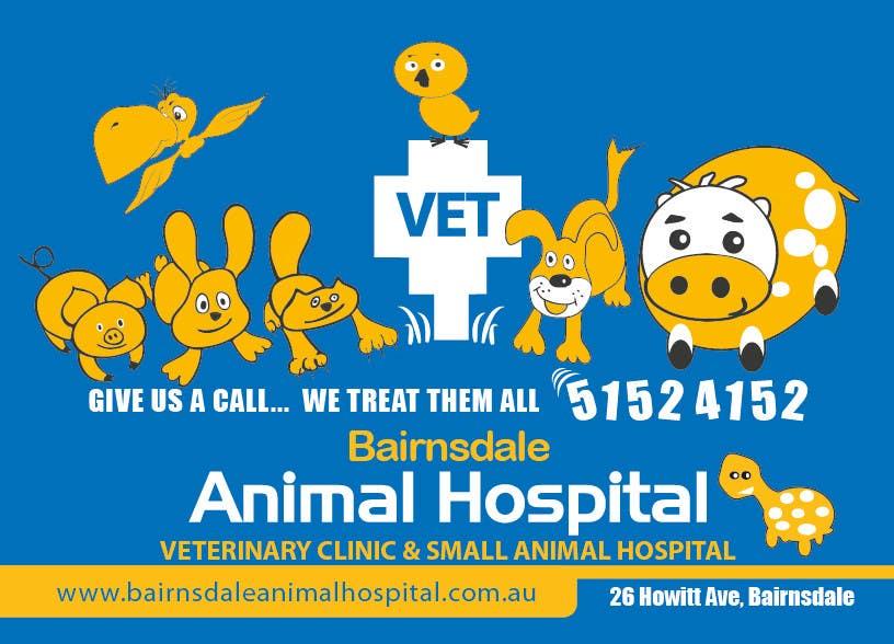 Inscrição nº 34 do Concurso para Graphic Design for Bairnsdale Animal Hospital