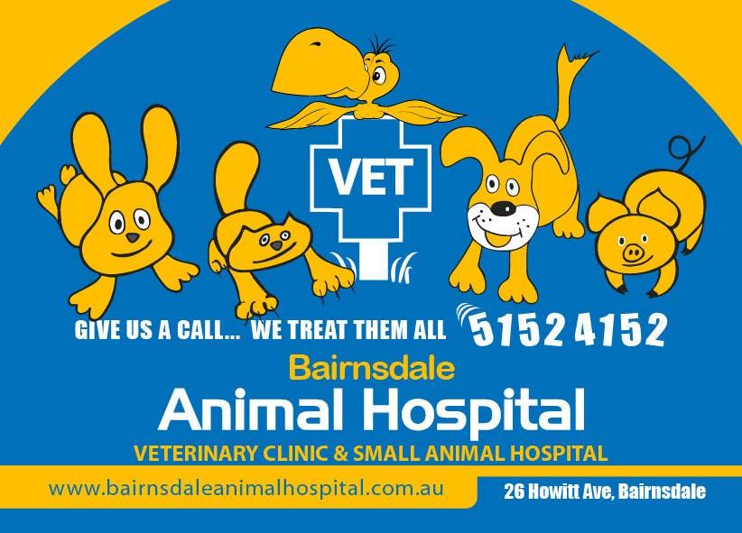 Inscrição nº 32 do Concurso para Graphic Design for Bairnsdale Animal Hospital