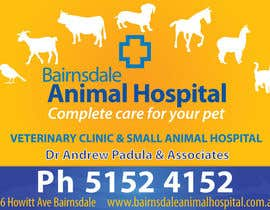 #6 para Graphic Design for Bairnsdale Animal Hospital por MadGavin