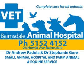 #38 para Graphic Design for Bairnsdale Animal Hospital por eenchevss