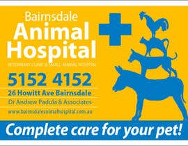 nº 28 pour Graphic Design for Bairnsdale Animal Hospital par Habitus