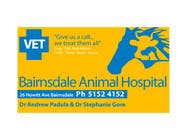 Graphic Design Entri Peraduan #33 for Graphic Design for Bairnsdale Animal Hospital