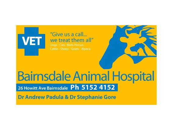 Inscrição nº 33 do Concurso para Graphic Design for Bairnsdale Animal Hospital