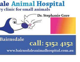 nº 7 pour Graphic Design for Bairnsdale Animal Hospital par giovanniperini