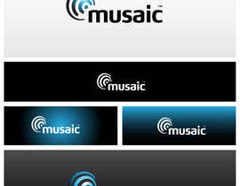 #506 para Logo Design for Musaic Ltd. por maidenbrands