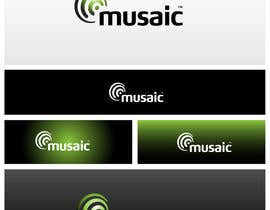 #504 para Logo Design for Musaic Ltd. por maidenbrands