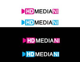 #67 para Design a Logo for HD Media NI por iwrotethose