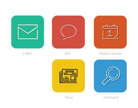 #9 for Design some Icons for Our apps by darefremov