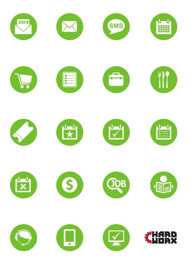 #6 for Design some Icons for Our apps by ilijabasica