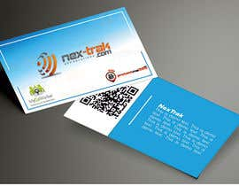 webcloud9 tarafından Design some Business Cards for Nex-Trak.com için no 8