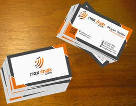 stoyanvasilev98 tarafından Design some Business Cards for Nex-Trak.com için no 5