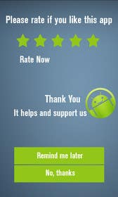 #11 for Rating Motivation Screen for Android App by MagicalDesigner