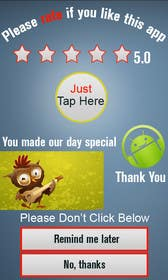 #18 for Rating Motivation Screen for Android App by MagicalDesigner