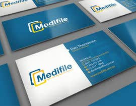 nº 8 pour Design some Business Cards for Medifile par midget