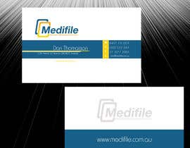 #50 para Design some Business Cards for Medifile por sajikoliyadi