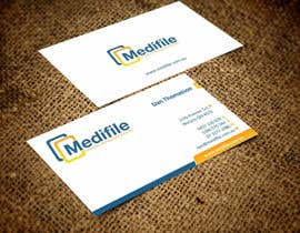 #19 para Design some Business Cards for Medifile por ezesol