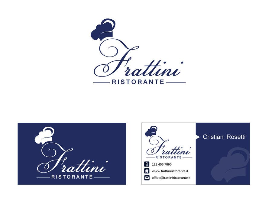 #50 for Design a Logo for Frattini Restaurant by alexandracol