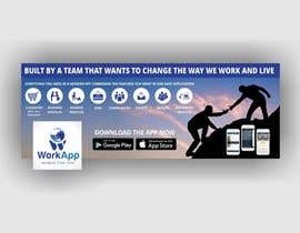 #9 for Facebook Cover for Newly Launched Global App - WorkApp by Shrey0017