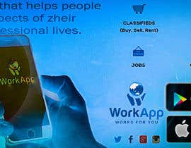 #19 for Facebook Cover for Newly Launched Global App - WorkApp by Danci111