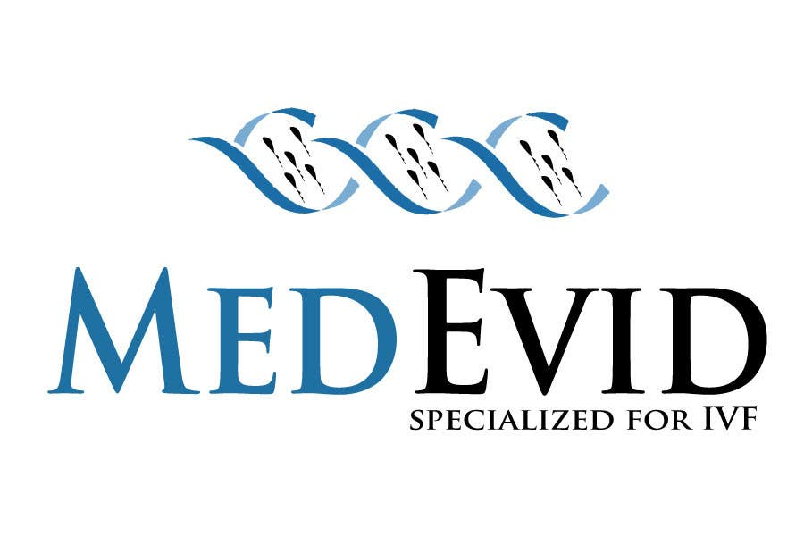 "Bài tham dự cuộc thi #44 cho Design logo for Medical system named ""MedEvid"", specialized for IVF"