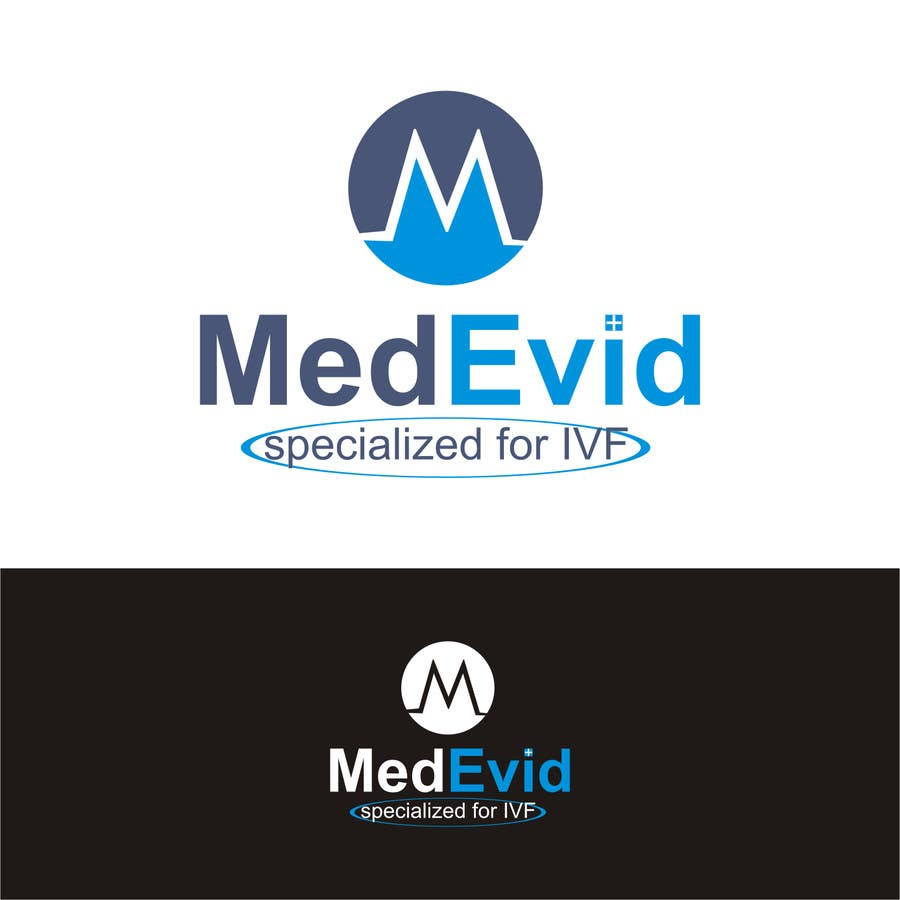 "Bài tham dự cuộc thi #12 cho Design logo for Medical system named ""MedEvid"", specialized for IVF"