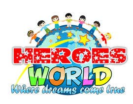 #65 para Design a Logo for HEROES WORLD por laniegajete