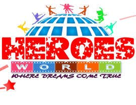 #58 cho Design a Logo for HEROES WORLD bởi nandhakumar0711