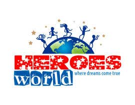 #63 para Design a Logo for HEROES WORLD por HWRD