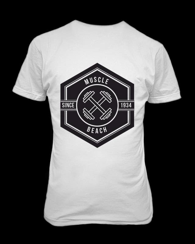 T shirt designs for workout fitness lifestyle brand for Design your own workout shirt
