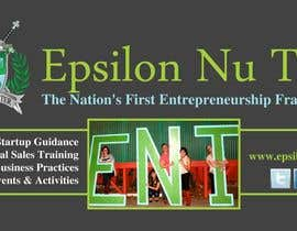 #5 for Design a Epsilon Nu Tau Fraternity Table Banner by amcgabeykoon