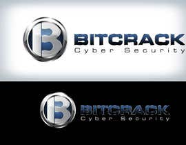 #71 pentru Logo Design for Bitcrack Cyber Security de către Clarify