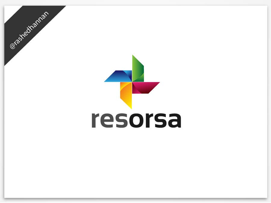 #1038 for Design en logo for Resorsa by rashedhannan