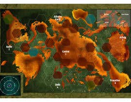 #13 cho Game Board Design for Post-Apocalyptic Strategy Game bởi andradanicola