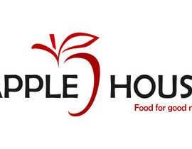 #40 untuk Create Logo for restaurante /Разработка логотипа для ресторана Apple House oleh fluoorum