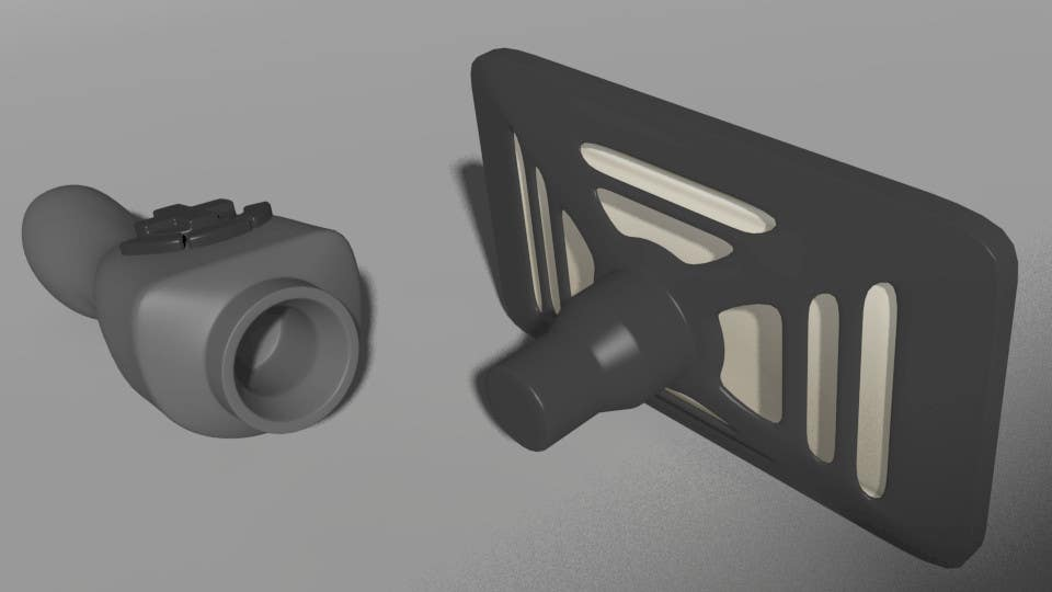 Contest Entry #                                        15                                      for                                         Wireless Joystick Modelling