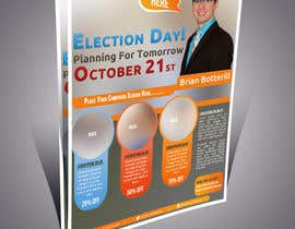 #14 untuk Design a Flyer for a Municipal Election oleh abdelaalitou