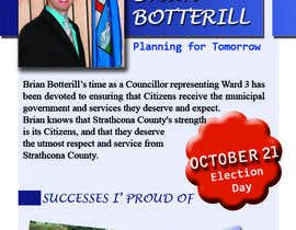#1 for Design a Flyer for a Municipal Election af canotr