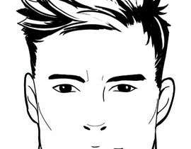 nº 60 pour Simple face drawing (Sample provided) par inoreloaded