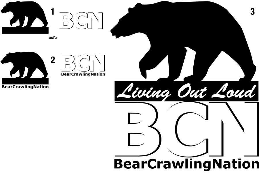 Kilpailutyö #                                        9                                      kilpailussa                                         Icon Design for BearCrawling Nation