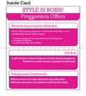 Graphic Design Inscrição do Concurso Nº11 para Design a fold-over business card for business promotion