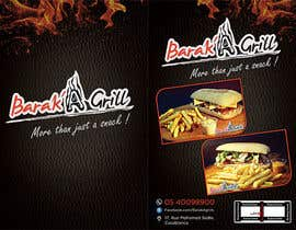 nº 11 pour creation de menu et flyer pour un fast food par zinebzeno