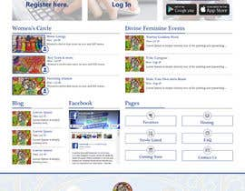 #13 cho The Return of the Divine Feminine ... Website Mockup Needed bởi vyasrohan