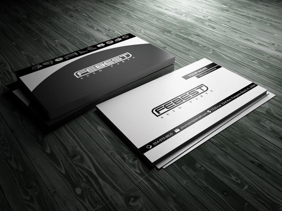 Entry 17 by uniquedesign18 for design some business cards for our contest entry 17 for design some business cards for our auto parts company reheart Gallery