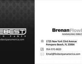 #26 untuk Design some Business Cards for Our Auto Parts Company oleh mydZnecoz