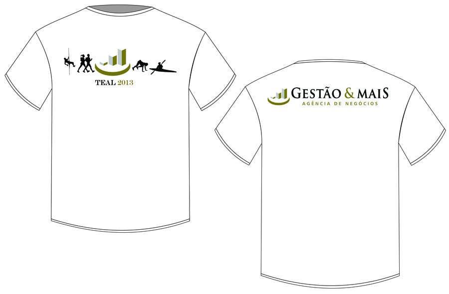 Penyertaan Peraduan #                                        8                                      untuk                                         Camiseta TEAL
