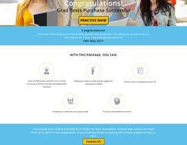 Nro 8 kilpailuun Design 1 landing page for an IQ testing website käyttäjältä rizsoft11