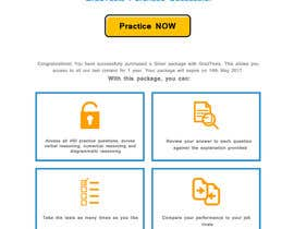 Nro 7 kilpailuun Design 1 landing page for an IQ testing website käyttäjältä Abdelrhman522