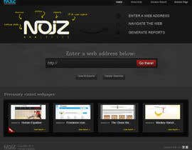 #29 pentru Website Design for Noiz Analytics de către cameolis