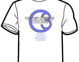 #7 for Design a T-Shirt for Calvary Christian College by A4Ggraphics